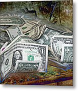 The Color Of The Money Metal Print