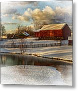 The Color Of Winter Metal Print