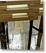 The Color Of Wood Metal Print