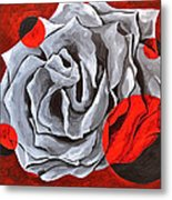 The Color Red Two Metal Print