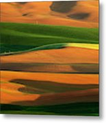 The Colorful Land Metal Print