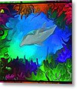 The Colorful Sea Metal Print