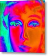The Colors Of Cassandra Metal Print
