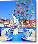 The Colors Of Coney Metal Print