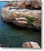 The Colors Of Franklin Island Metal Print