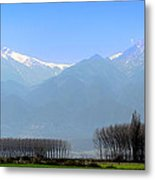The Colors Of Mount Olympus Metal Print