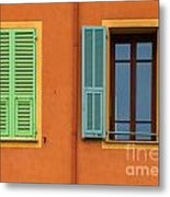 The Colors Of Old Nice Metal Print