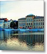 The Colors Of Stockholm Metal Print by Jenny Hudson