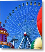 The Colors Of The State Fair Of Texas Metal Print