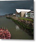 The Columbia River Maritime Museum Sits Metal Print