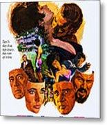 The Comedians, Us Poster, Bottom Metal Print