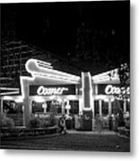 The Comet Roller Coaster - St Louis 1950 Metal Print