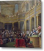 The Committee Of Lyon, 26th January 1802, 1808 Oil On Canvas Metal Print