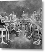The Committee Reaches Enlightenment II Metal Print