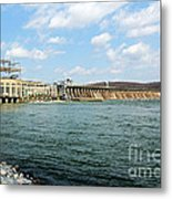 The Conowingo Dam Metal Print