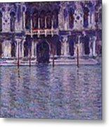 The Contarini Palace Metal Print