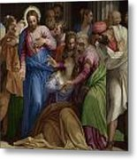 The Conversion Of Mary Magdalene Metal Print