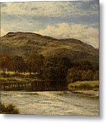 The Conway Near Bettws Y Coed Metal Print
