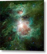 The Cosmic Hearth Metal Print
