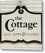 The Cottage In Lake Placid New York  Metal Print