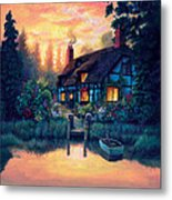 The Cottage Metal Print