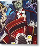 The Count Cool Rider Metal Print