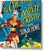 The Countess Of Monte Cristo, Us Poster Metal Print