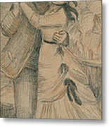 The Country Dance Metal Print