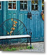 The Country Forge Metal Print