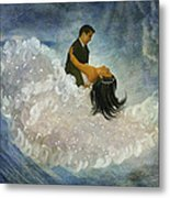 The Couple's First Dance Metal Print
