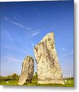The Cove Avebury Wiltshire Metal Print by Colin and Linda McKie