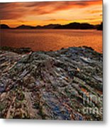 The Creation Of Light Metal Print by Pete Reynolds