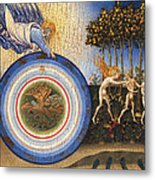 The Creation Of The World And The Expulsion From Paradise Metal Print