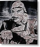 The Creature From The Black Lagoon Metal Print