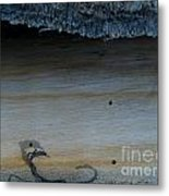 The Creature That Ate The Rings Of Saturn  Metal Print