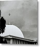The Crescent And Star Metal Print