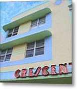 The Crescent Metal Print