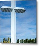 The Cross At Effingham Illinois Metal Print