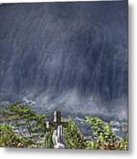 The Cross Metal Print by Douglas Barnard