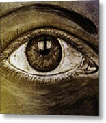 The Cross Eye Metal Print