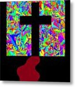 The Cross In Fauvism Metal Print