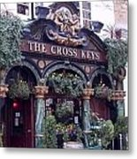 The Cross Keys Metal Print