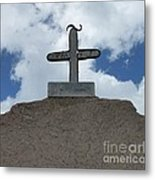 The  Cross Metal Print