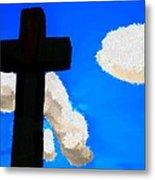 The Cross Of Christ Metal Print