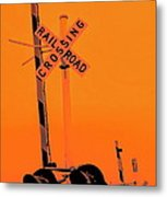 The Crossing A Metal Print