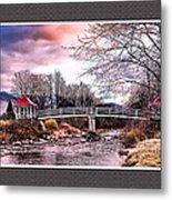 The Crossing II Brenton Woods Nh Metal Print