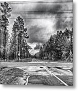 The Crossroads Metal Print