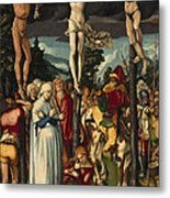 The Crucifixion Of Christ Metal Print