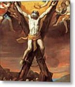 The Crucifixion Of St Andrew Metal Print