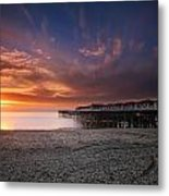 The Crystal Pier Metal Print by Larry Marshall